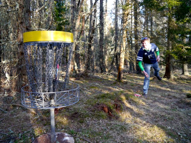 Disc Golf at Ace Adventure